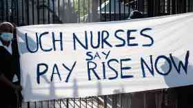 Activist training for nurses to mobilise for strike action