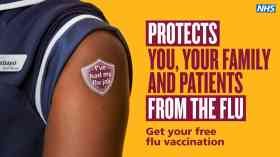 NHS launches 'vital' health worker flu vaccination drive