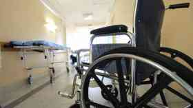 Patients routinely cared for in 'temporary' beds