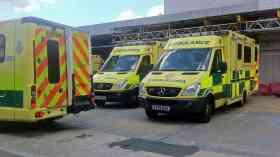 NHS chief warns of ambulances stuck at A&E