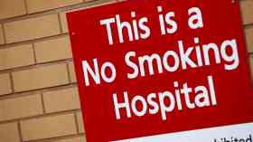 Ban on smoking on hospital grounds in Wales